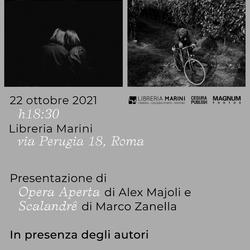 Alex Majoli e Marco Zanella a Roma
