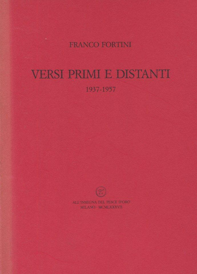 Versi primi e distanti 1937-3957