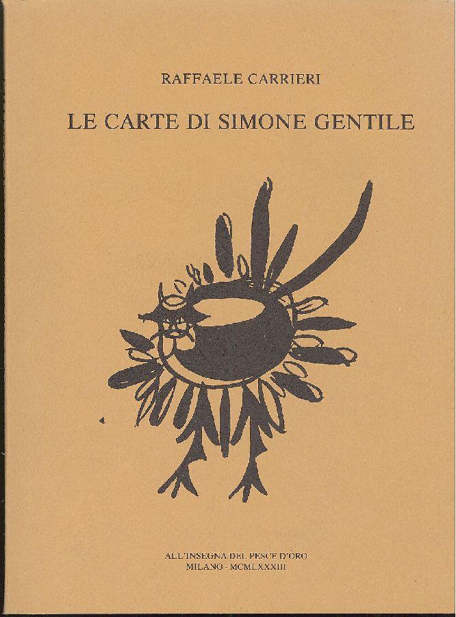 Le carte di Simone Gentile