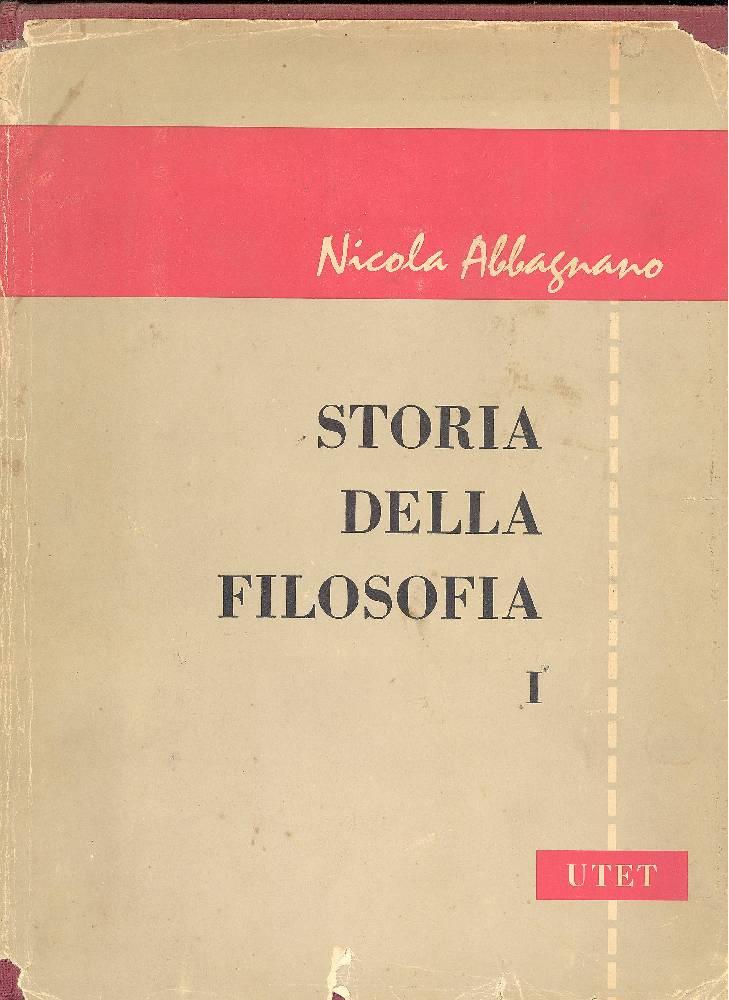 ABBAGNANO Nicola, Storia della filosofia