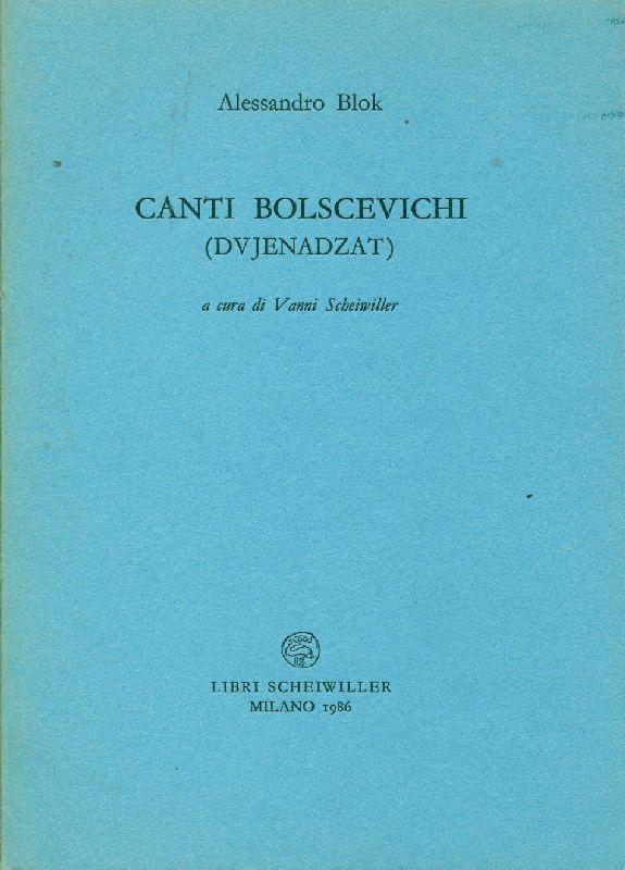 Canti bolscevichi (dvjenadzat)