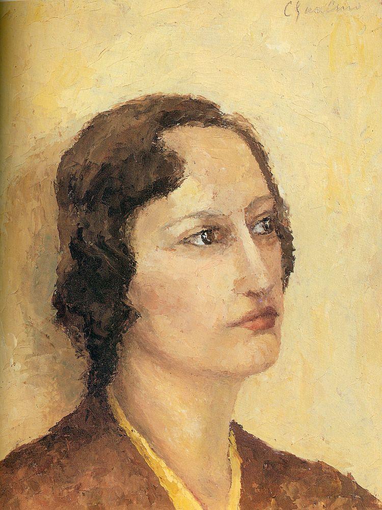 Cesarina Gualino. Autoritratto, 1931