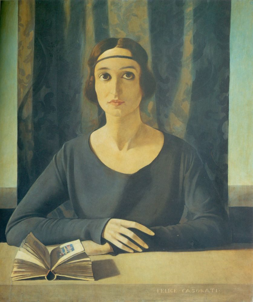 Felice Casorati, Ritratto di Cesarina Gualino, 1922