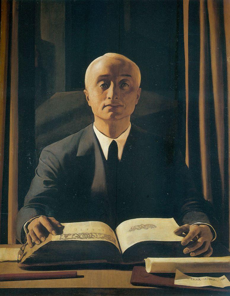 Felice Casorati, Ritratto di Riccardo Gualino. 1922