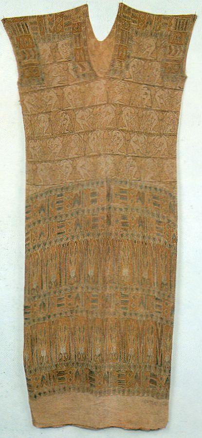 Tunica originale in crespo di seta