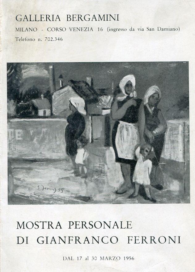 Mostra personale di Gianfranco Ferroni