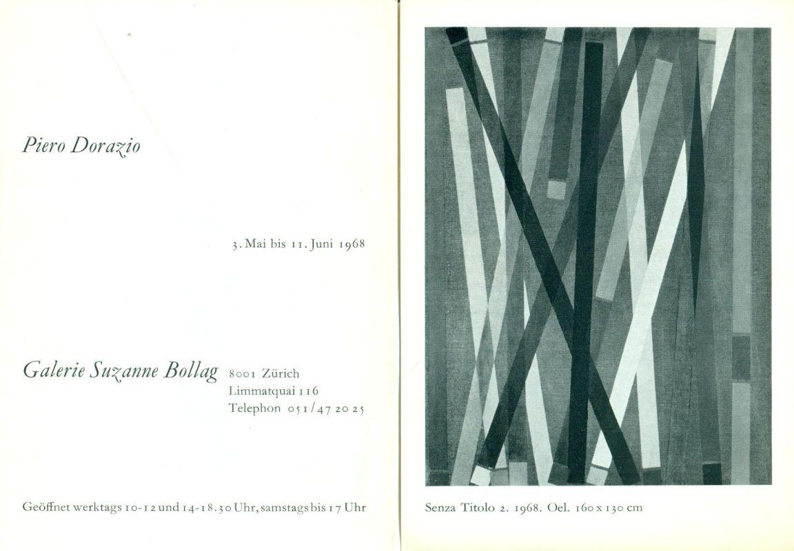 Piero Dorazio. Galerie Suzanne Bollag